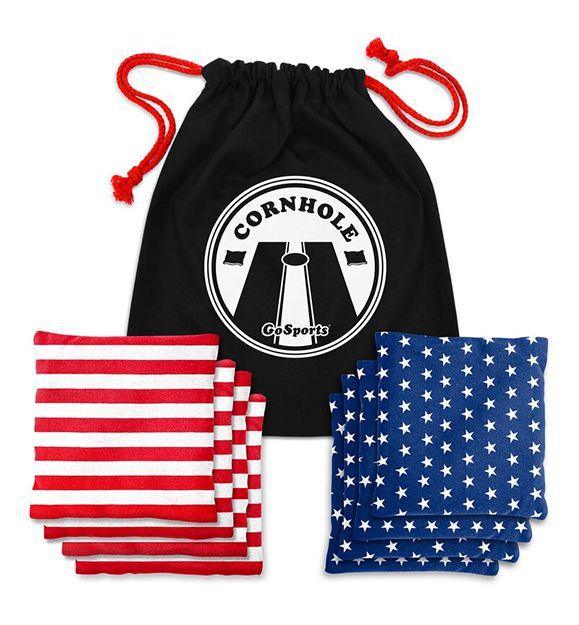 American Flag Cornhole Bean Bags