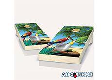 Parrot Cornhole Board