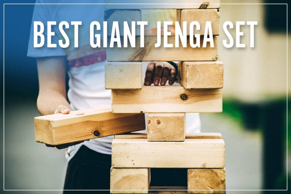 Best Giant Jenga Set