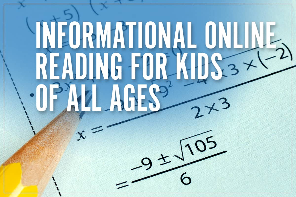 Fun, Free, Informational Online Math For Kids of All Ages