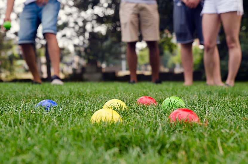 How To Play Bocce Ball
