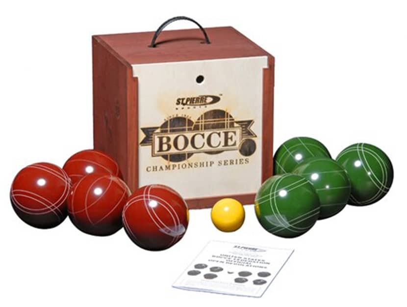 St Pierre Sports Bocce Game Set