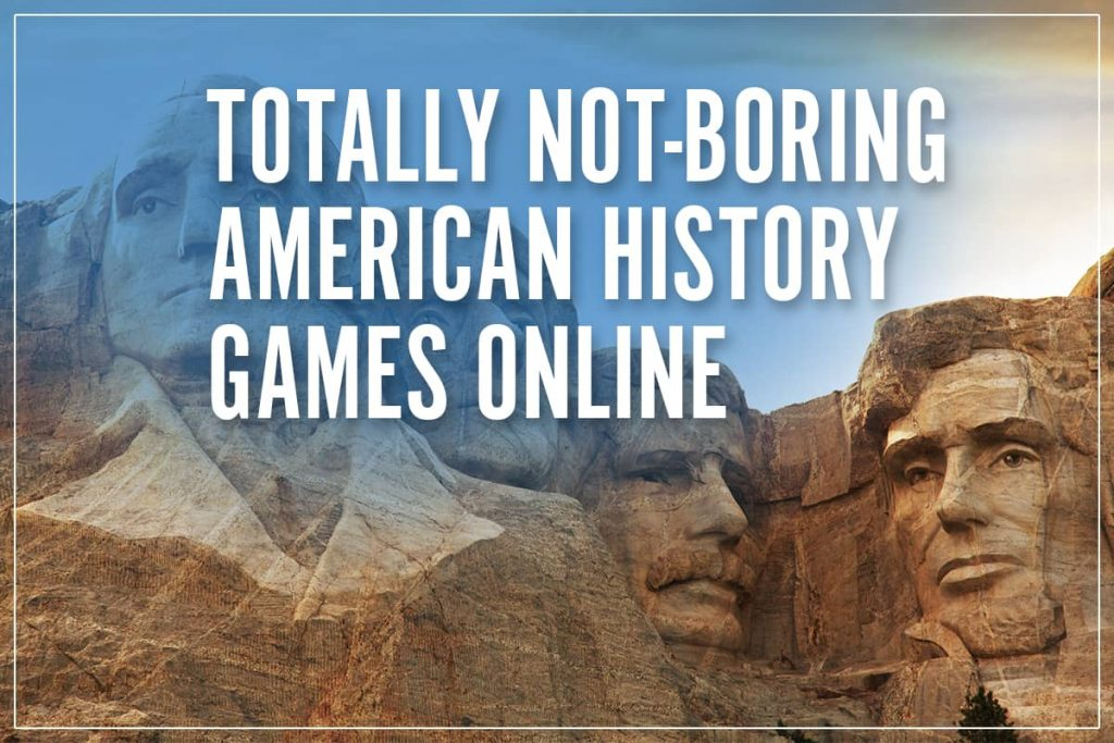 american history games online