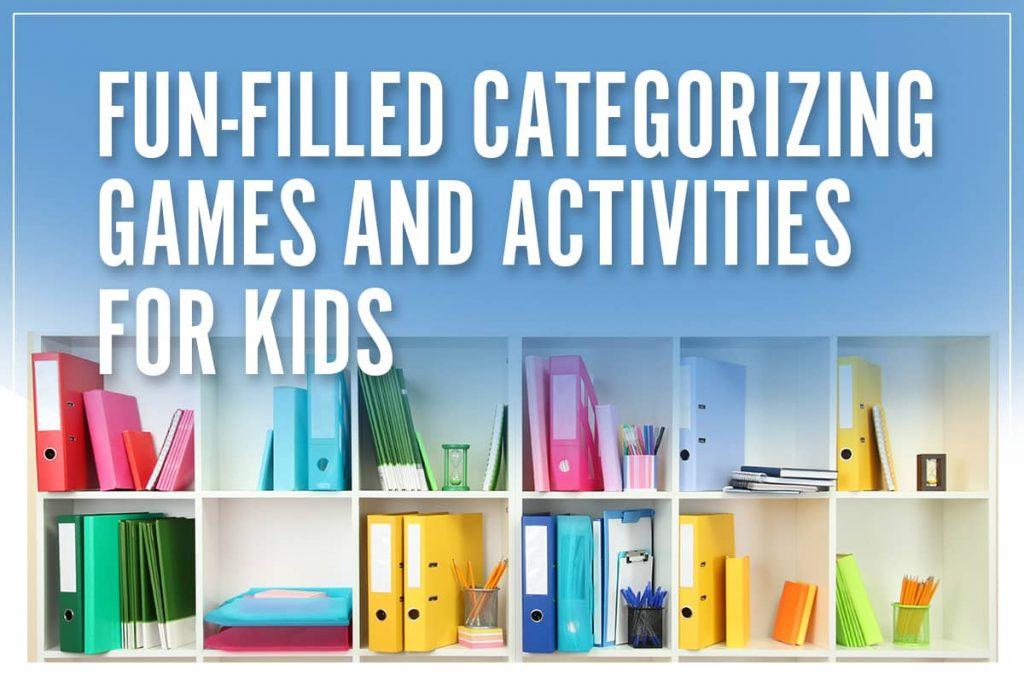 categorizing games