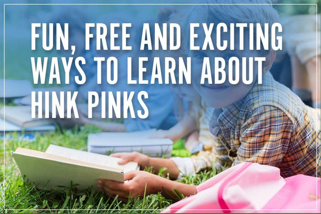 hink pink games