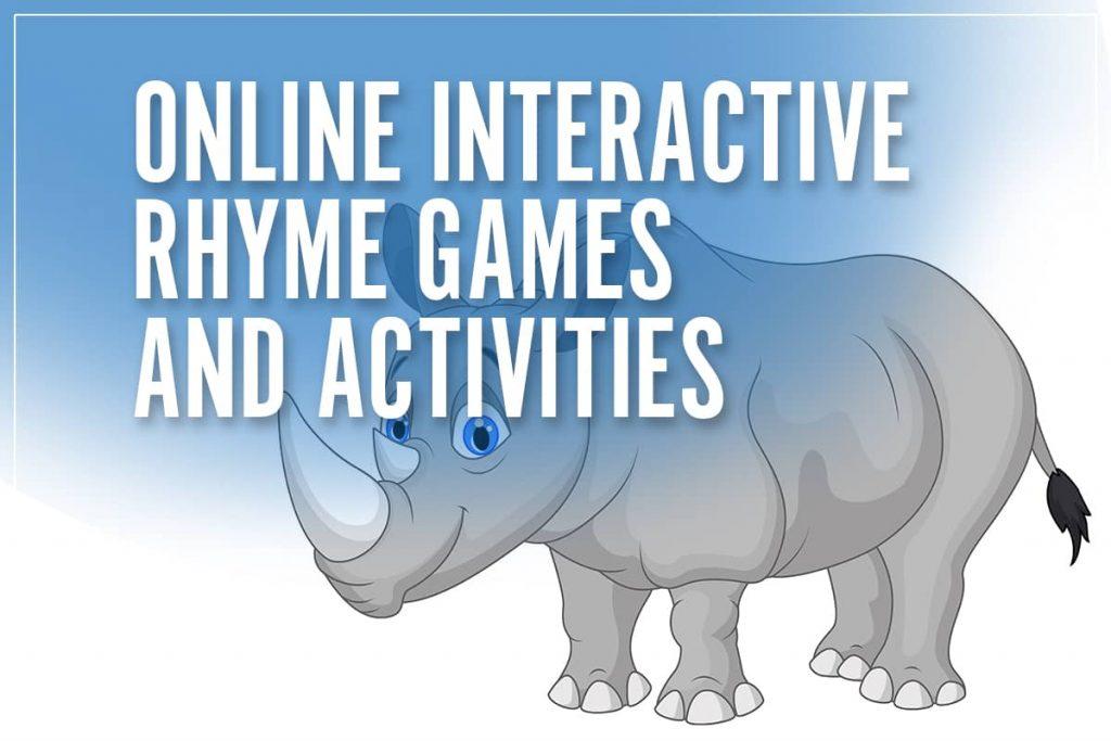 reggie the rhyming rhino