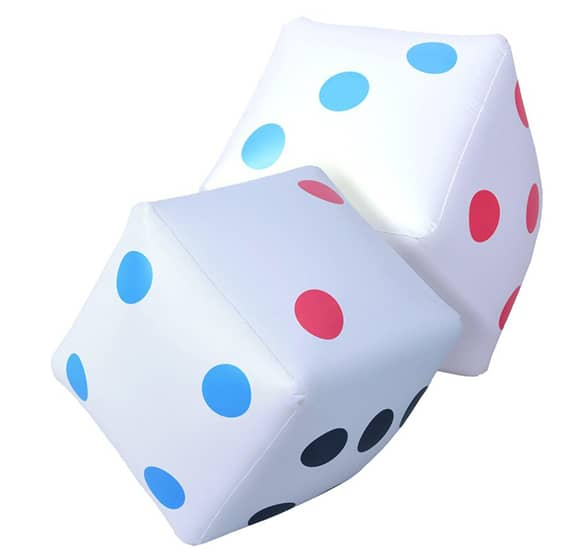 GoSports Giant Inflatable Dice