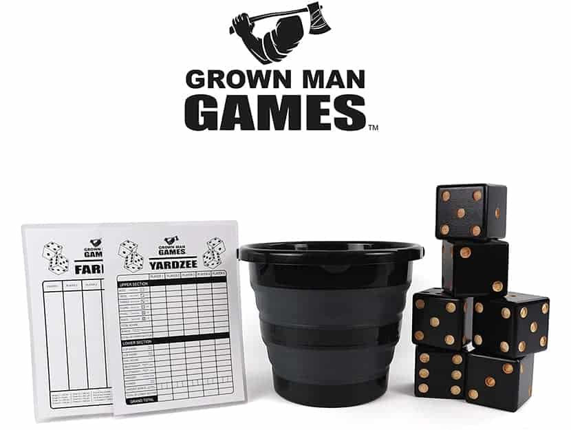Grown Man Games Giant Dice