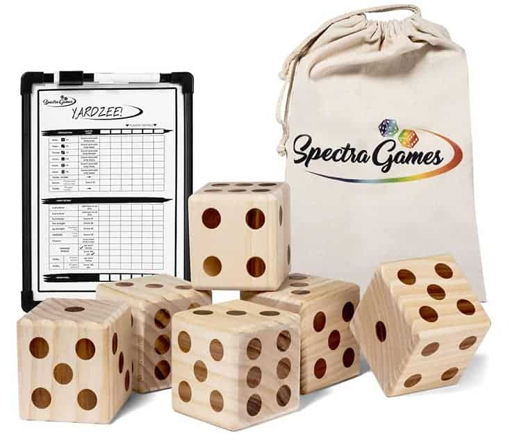 Spectra Games Giant Dice
