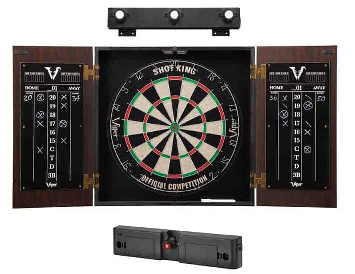 Viper Stadium Bristle Dartboard And Cabinet Set