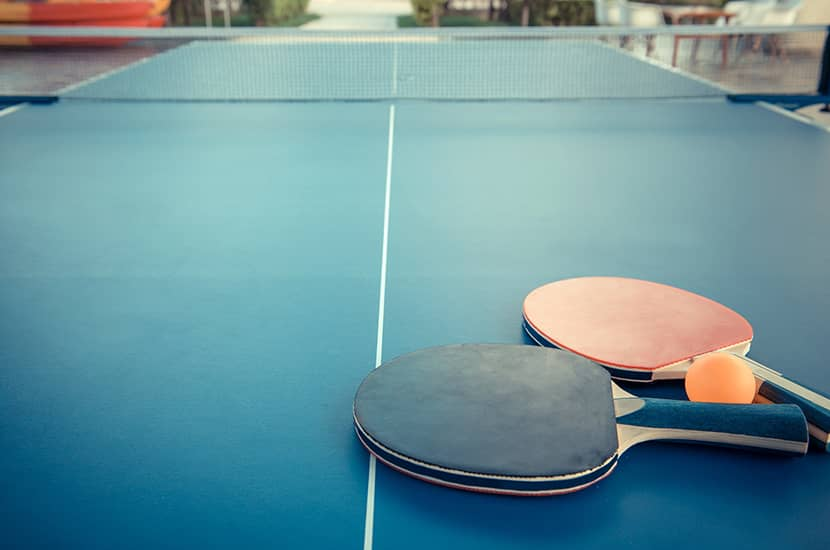 How To Set Up A Ping Pong Table