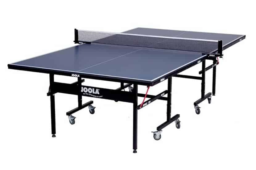Inside Foldable Indoor Table Tennis Table