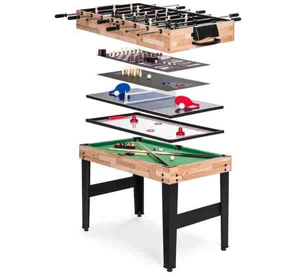 """10 Games 48"""" Multi Game Table"""