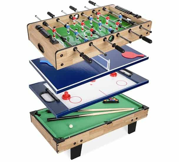 """4 Games 32"""" Multi Game Table"""
