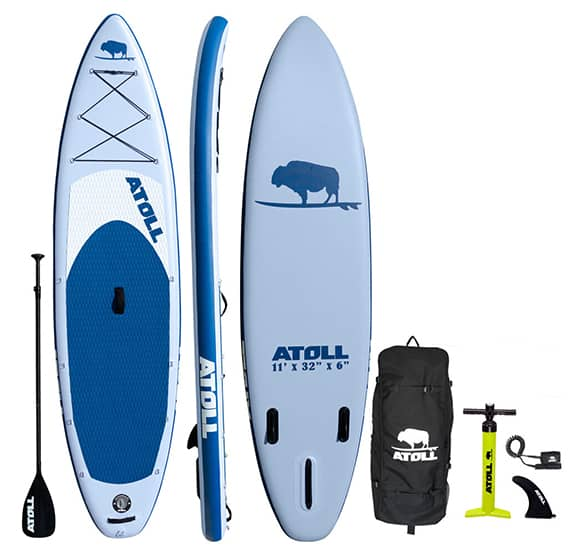 Atoll Inflatable Paddle Board Package