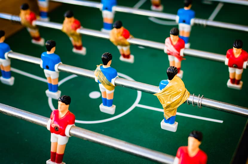 Features To Consider When Choosing A Foosball Coffee Table