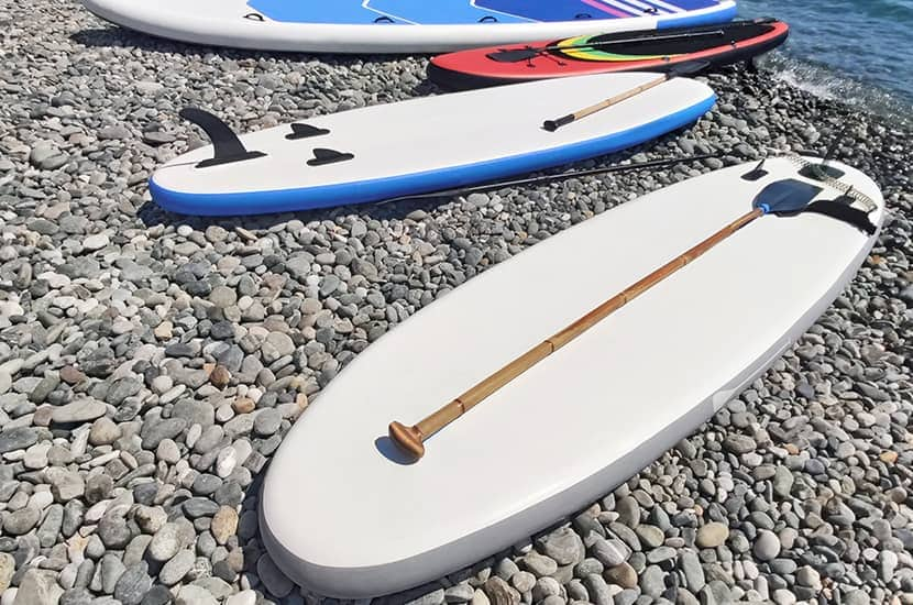 Types Of Paddle Board
