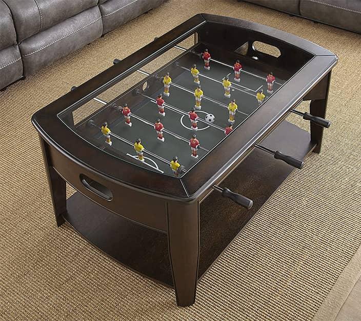 Diletta Foosball Game Coffee Table