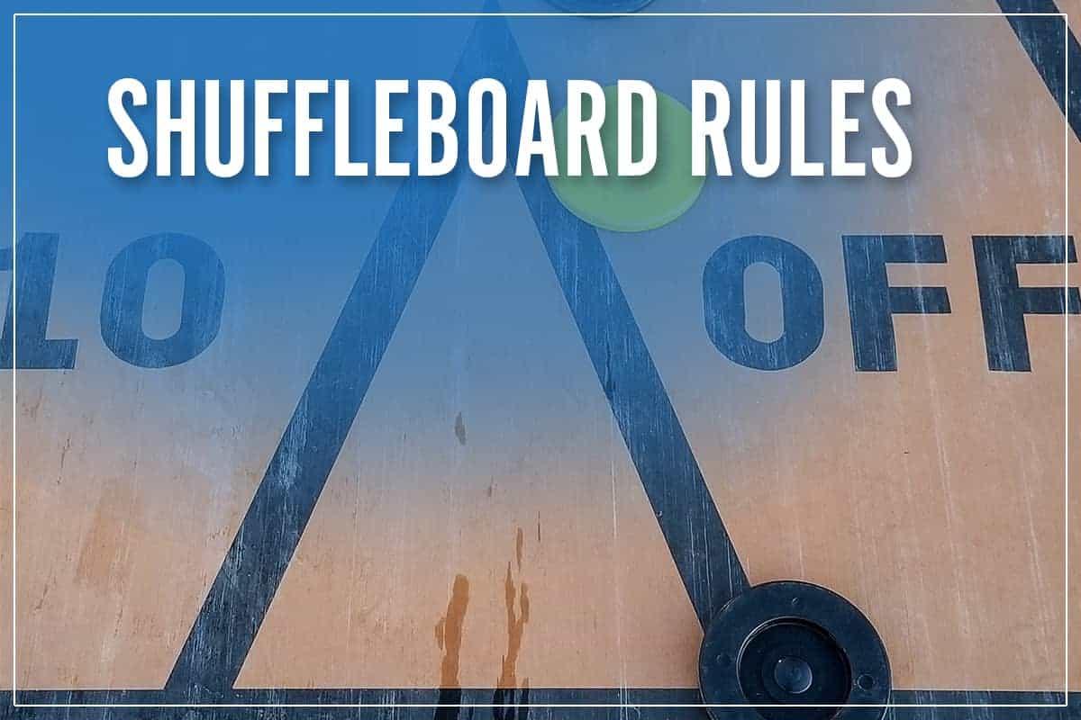 Shuffleboard Rules