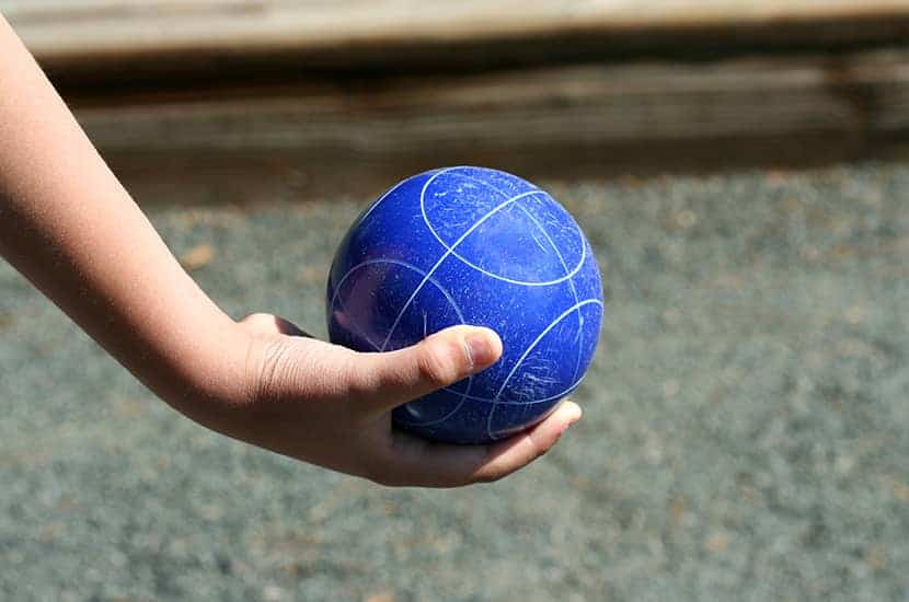 How To Throw A Bocce Ball
