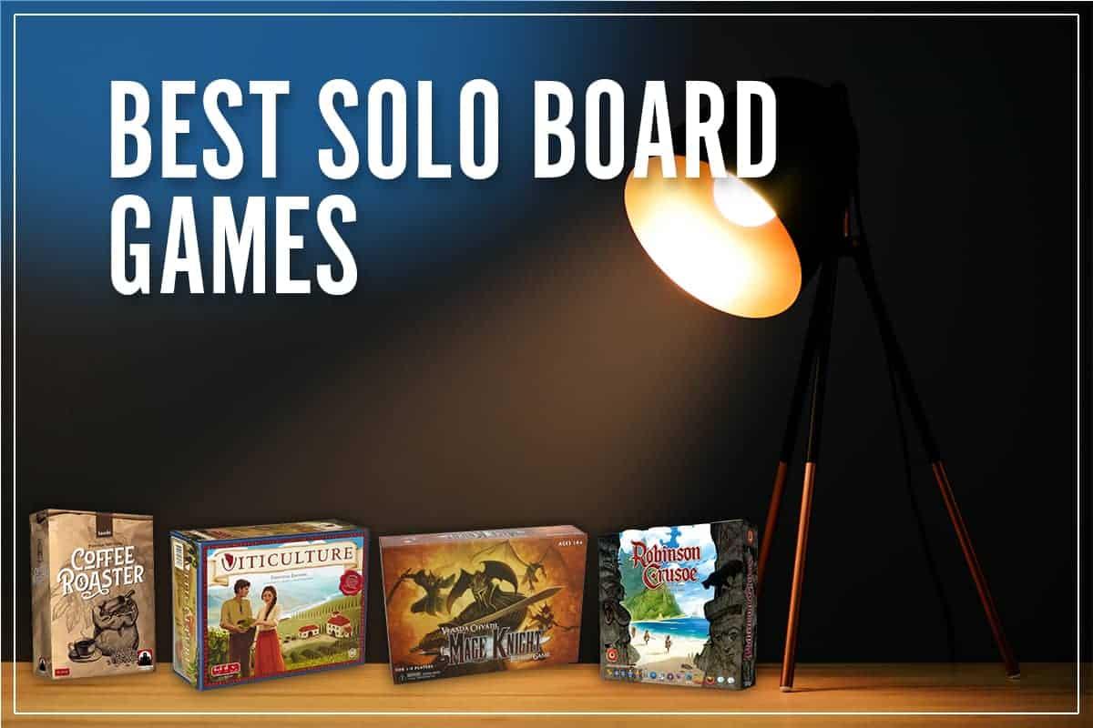 Best Solo Board Games