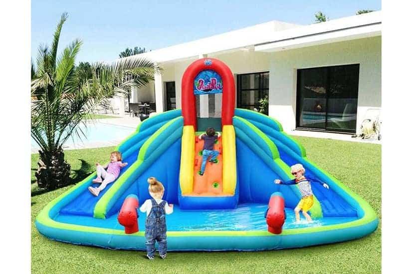 Bestoutdor Inflatable Water Slide