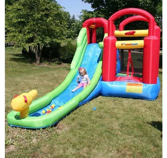 Bounceland Water Slide And Bounce House
