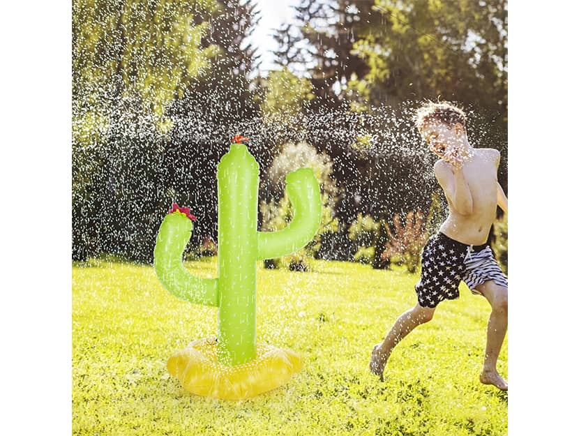 Inflatable Cactus Kids Sprinkler