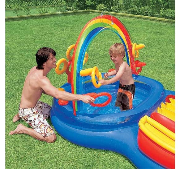 Intex Inflatable Pool Center