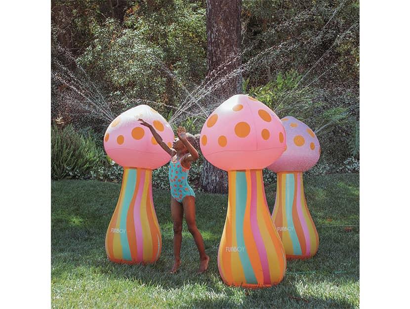 Mushroom Sprinkler For Kids