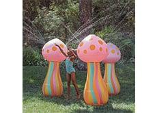 Mushroom Sprinkler