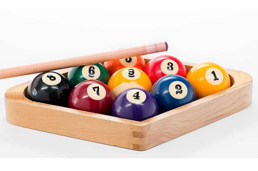 A Tight Rack For Any Game Of Pool