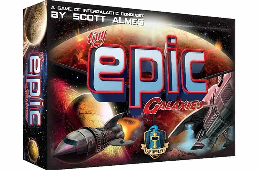 Tiny Epic Galaxies Games