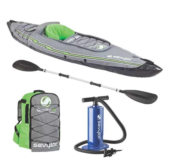 Sevylor Quikpak K5 Inflatable Kayak