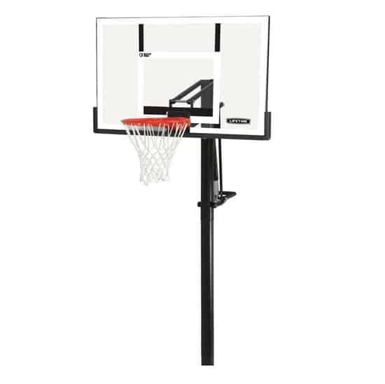 Lifetime Power Lift Backboard Basketball System