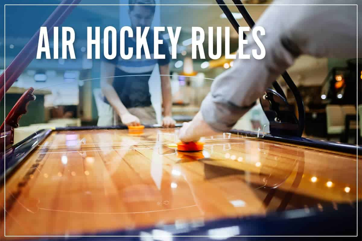 Air Hockey Rules